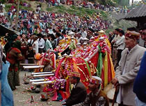 Sharhi Jatra fair in Naggar