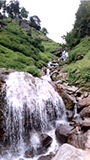 Rahla Fall near Rohtang Pass - Kullu Valley