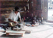 A local smith at work - Kullu Valley