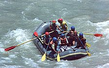 White Water Rafting In River Beas